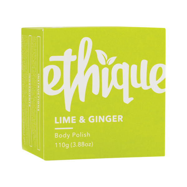 ETHIQUE Solid Body Polish Bar Lime & Ginger 110g
