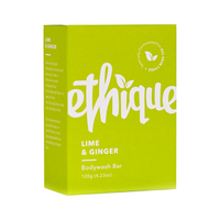 ETHIQUE Solid Bodywash Bar Lime & Ginger 120g