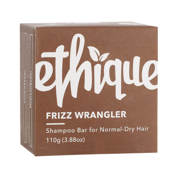 ETHIQUE Solid Shampoo Bar Frizz Wrangler - Dry or frizzy hair 110g