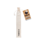EVER ECO Bubble Tea Straw Kit - Straight Stainless Steel + Cleaning Brush 1