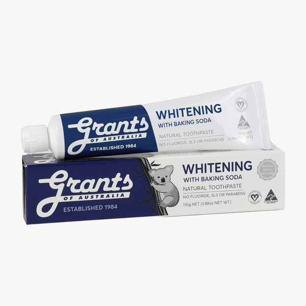 GRANTS Toothpaste Whitening with Baking Soda 110g