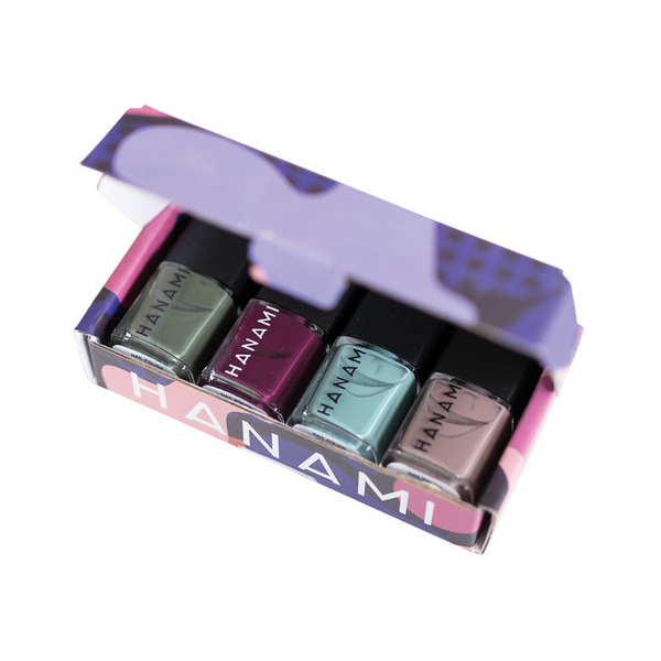 HANAMI Nail Polish Collection Solstice 9ml x 4 Pack