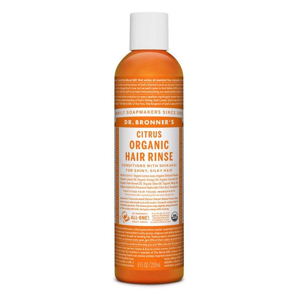 DR BRONNER'S Hair Care Citrus Conditioning Rinse 237ml