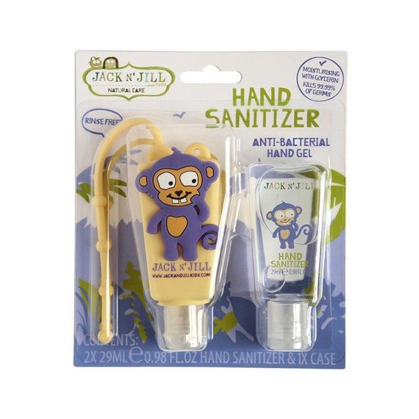 JACK N' JILL Hand Sanitizer & Holder Monkey 29ml