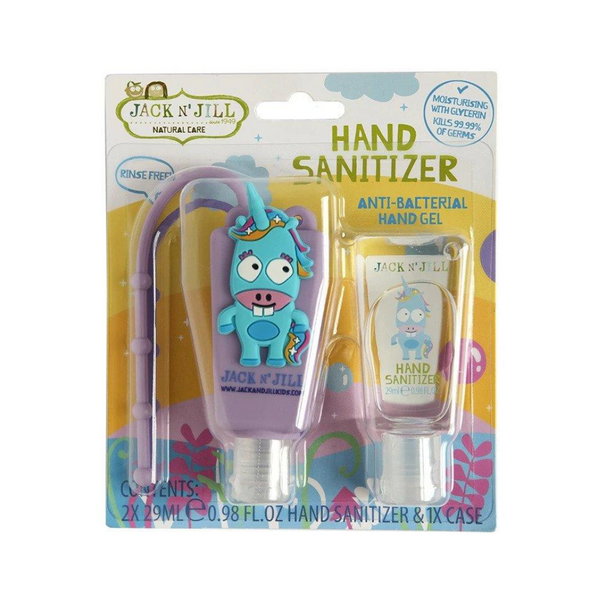 JACK N' JILL Hand Sanitizer & Holder Unicorn 29ml