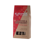 KURANDA Gluten Free Energy Bars Almond & Cranberry 35g x 5 Pack