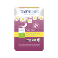 NATRACARE Maxi Pads Regular 14