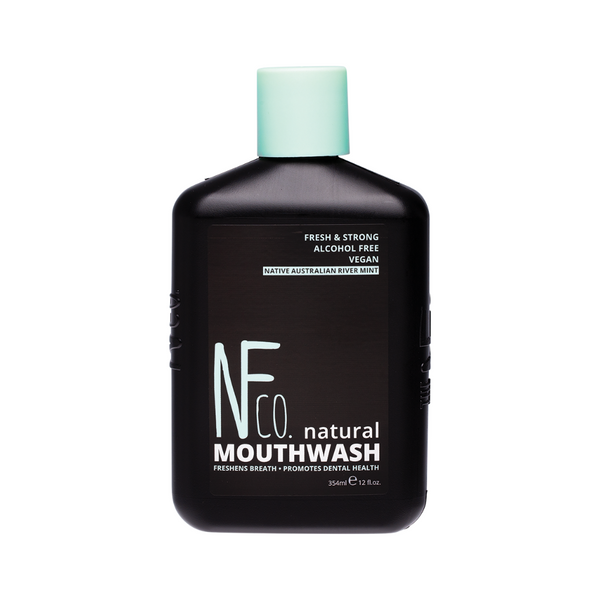 NFCO Natural Mouthwash Native Australian River Mint 354ml