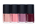 HANAMI Nail Polish Collection Tootsie 9ml x 4 Pack