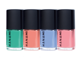 HANAMI Nail Polish Collection Voyage 9ml x 4 Pack