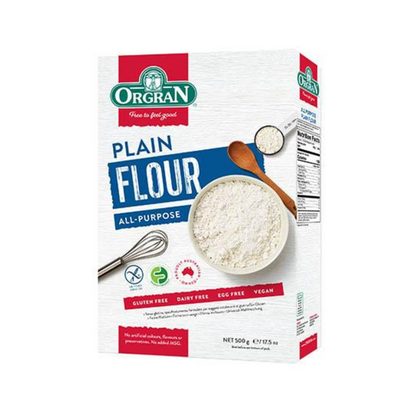 ORGRAN Gluten Free Flour All Purpose Plain 500g