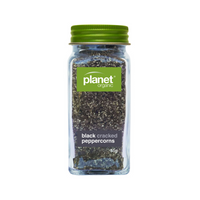 PLANET ORGANIC Black Pepper Cracked Shaker 55g