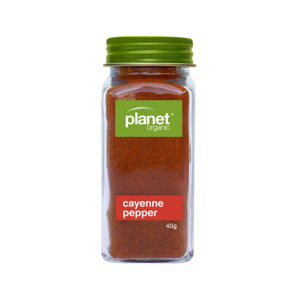 PLANET ORGANIC Cayenne Pepper Ground Shaker 40g