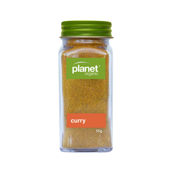 PLANET ORGANIC Curry Shaker 55g