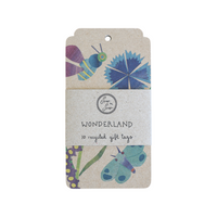 SOW 'N SOW Recycled Gift Tags - 10 Pack Wonderland