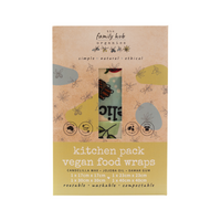 Vegan Food Wraps - Kitchen Set