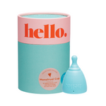 THE HELLO CUP Menstrual Cup - Blue S/M