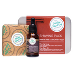 THE AUST. NATURAL SOAP CO Shaving Pack - Includes Shaving Soap Bar & Oil