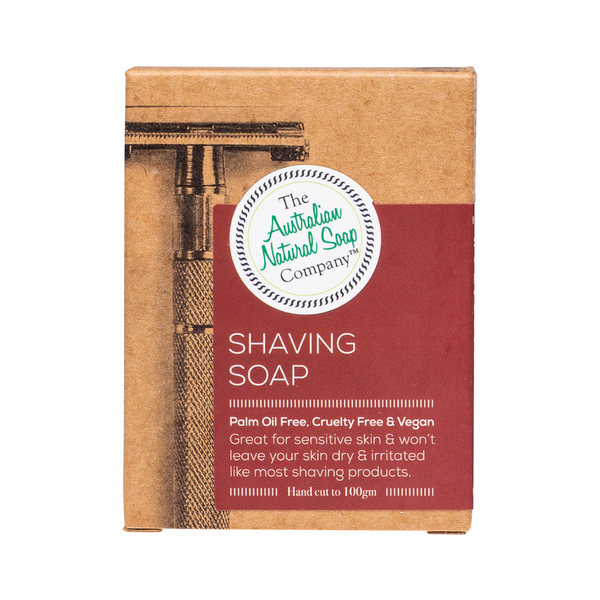 THE AUST. NATURAL SOAP CO Shaving Soap Bar