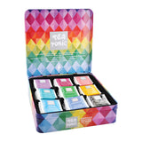 TEA TONIC Tin Tea Chest Deluxe x 63 Tea Bags