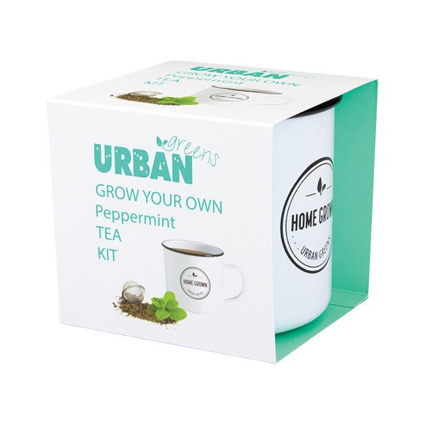 URBAN GREENS Grow Your Own Tea Kit Peppermint