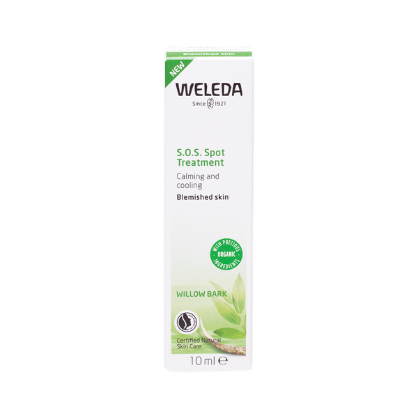 WELEDA S.O.S. Spot Treatment Willow Bark (Calming and Cooling - Blemished Skin) 10ml