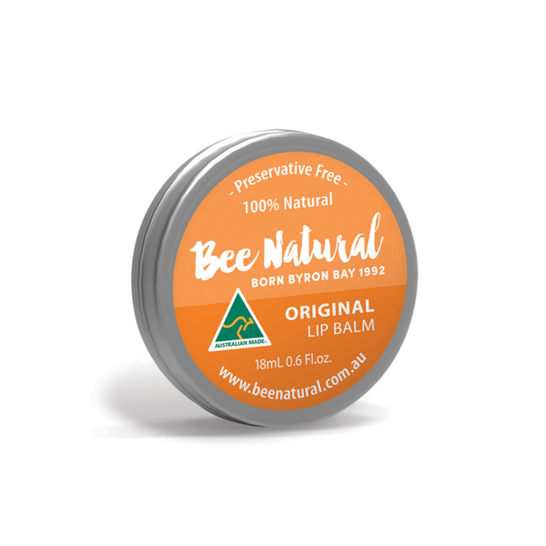 BEE NATURAL Lip Balm Tin Original 18ml