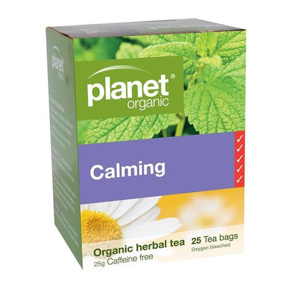 PLANET ORGANIC Herbal Tea Bags Calming 25