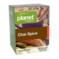 PLANET ORGANIC Herbal Tea Bags Chai Spice 25