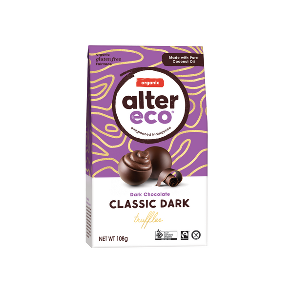 ALTER ECO Chocolate (Organic) Black Truffles 108g