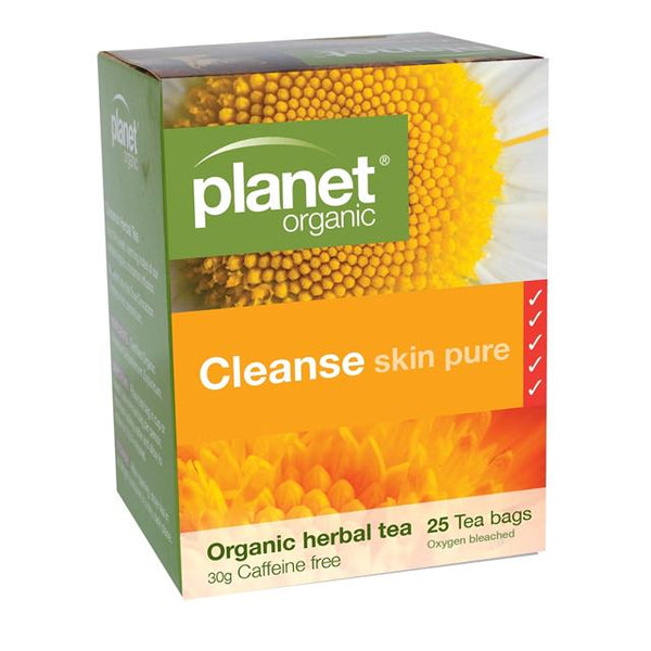 PLANET ORGANIC Herbal Tea Bags Cleanse 25
