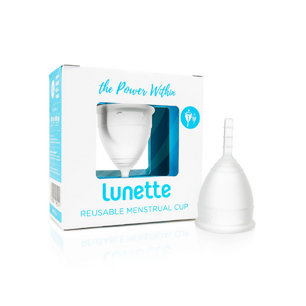 LUNETTE Reusable Menstrual Cup Model 1 - Clear