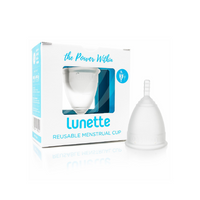 LUNETTE Reusable Menstrual Cup Model 2 - Clear