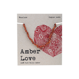 AMBER LOVE Children's Necklace 100% Baltic Amber