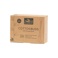 GO BAMBOO Cotton Buds 200