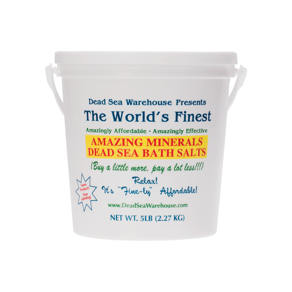 DEAD SEA WAREHOUSE Dead Sea Bath Salts Bucket 2.27kg