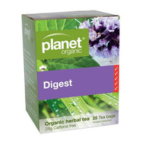 PLANET ORGANIC Herbal Tea Bags Digest 25