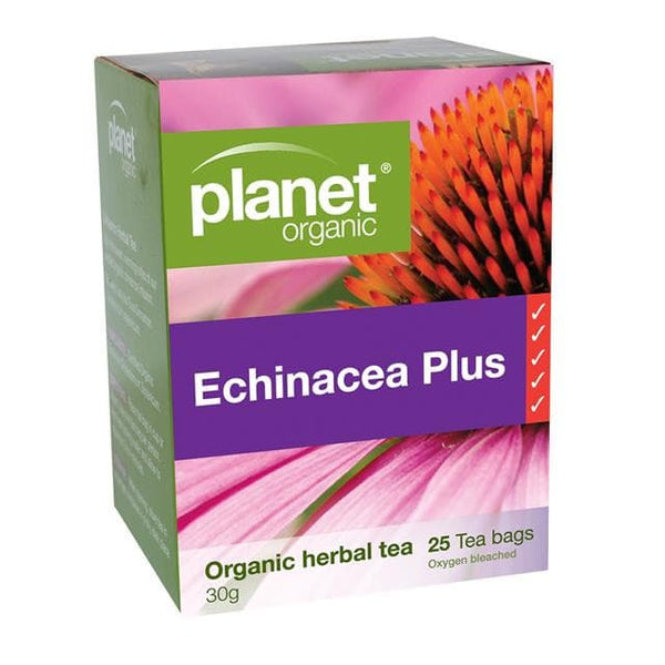 PLANET ORGANIC Herbal Tea Bags Echinacea Plus 25