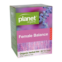 PLANET ORGANIC Herbal Tea Bags Female Balance 25