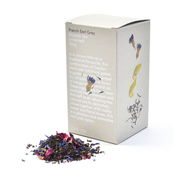 LOVE TEA Organic French Earl Grey 100g