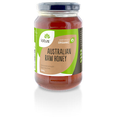 LOTUS Organic Raw Honey