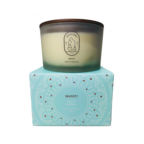DISTILLERY FRAGRANCE HOUSE Soy Candle Magic Fruity Essence 450g