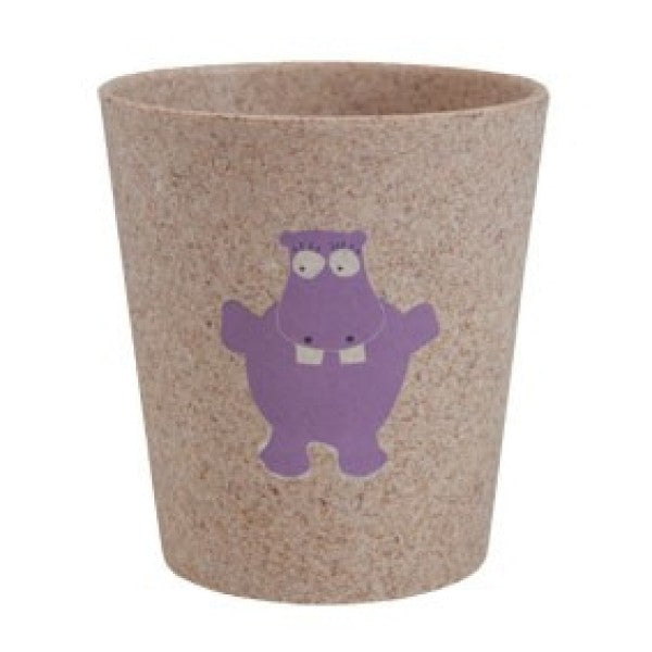JACK N' JILL Storage/Rinse Cup Hippo (Biodegradable)