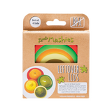 LITTLE MASHIES Reusable Leftover Lids Pack Of 4