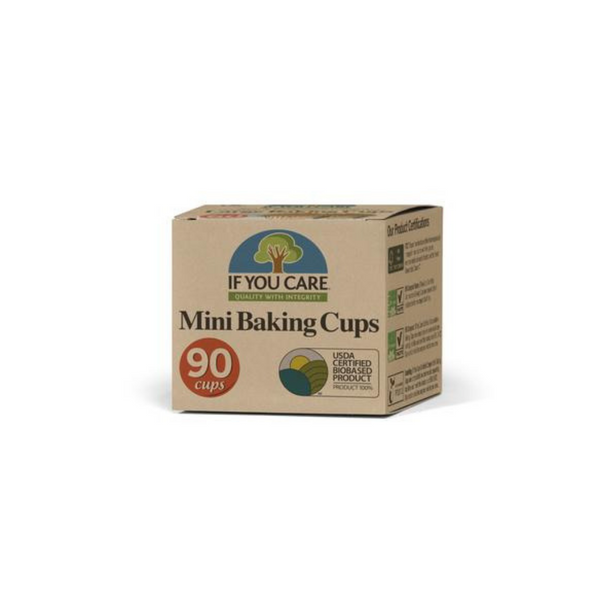 IF YOU CARE Mini Baking Cups 90Pcs