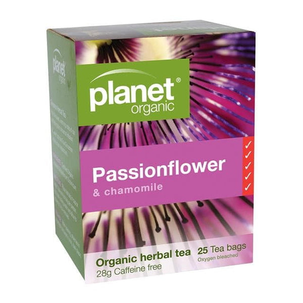 PLANET ORGANIC Herbal Tea Bags Passionflower 25