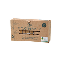 GO BAMBOO Clothes Pegs 20