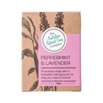 THE AUSTRALIAN NATURAL SOAP CO Peppermint & Lavender 100g