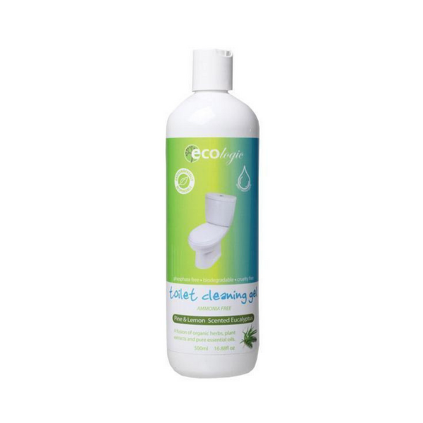 ECOLOGIC Toilet Cleaning Gel Pine, Lemon & Eucalyptus 500ml