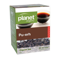 PLANET ORGANIC Herbal Tea Bags Pu-erh